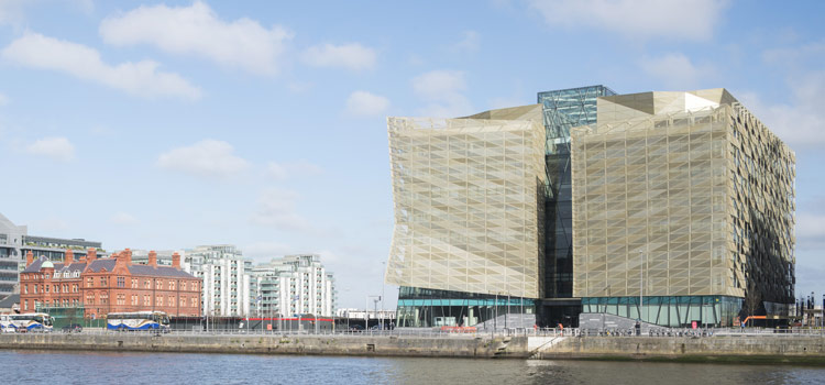 Central Bank of Ireland Docklands building