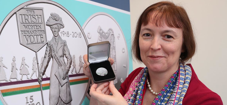 Irish Women 100 Years Voting Commemorative Coin