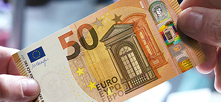 New 50 euro note